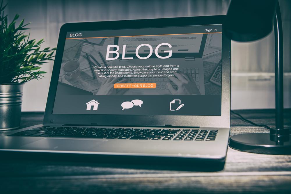 Crie um blog