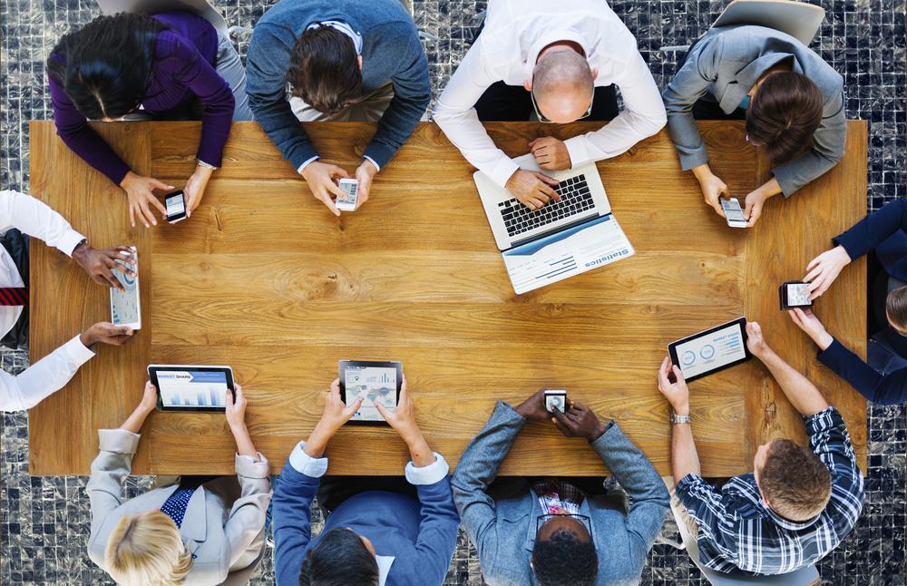 Taxa de conversão através de cursos de marketing digital
