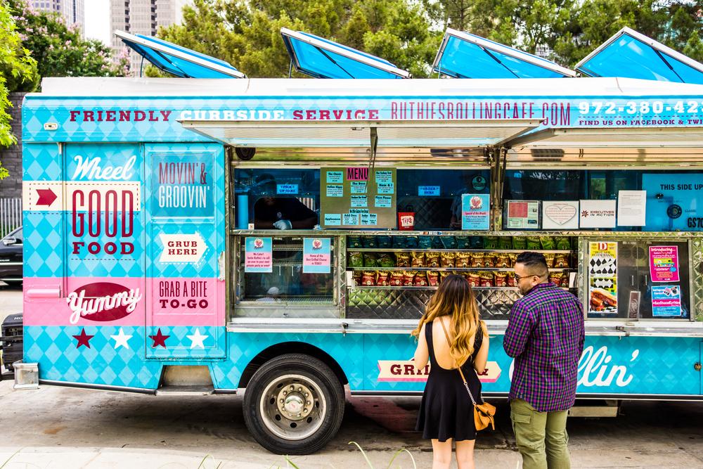 Food Trucks entre as ideias de negócios