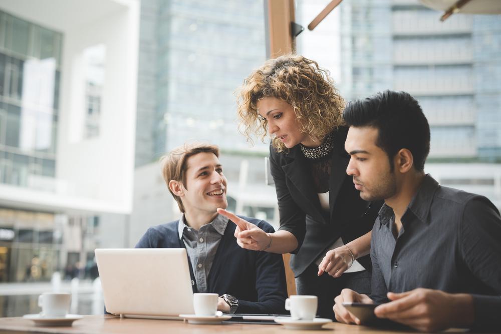 Empreendedor de sucesso como líder