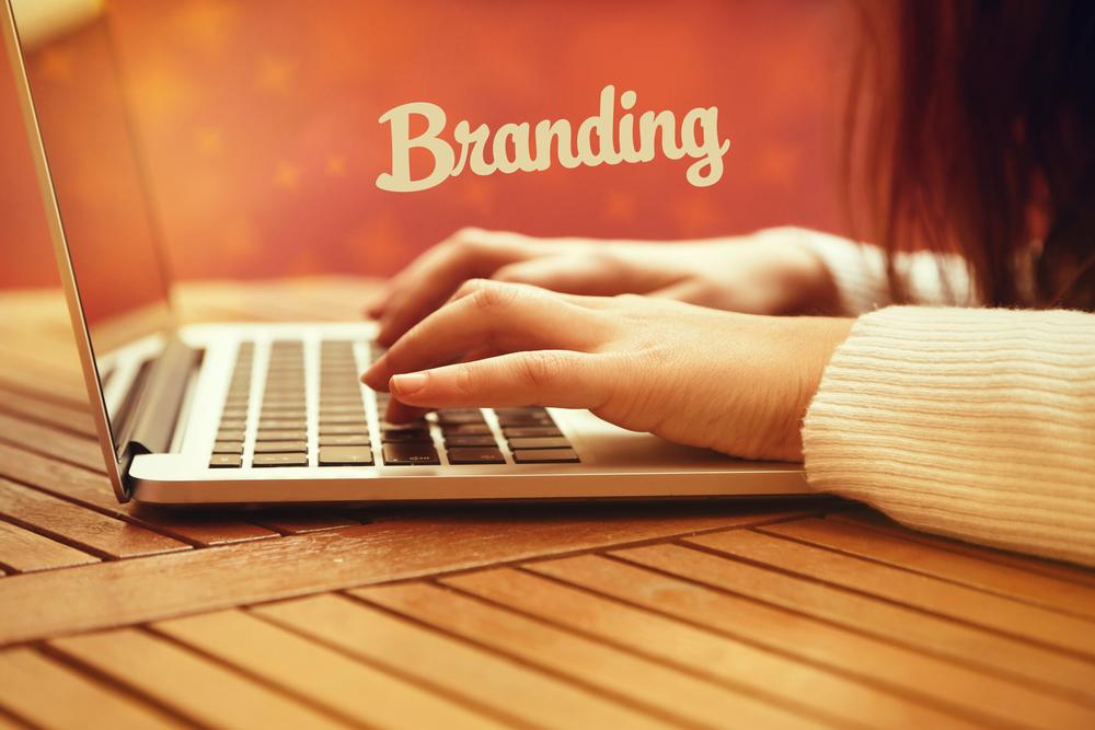 Crie a sua branding
